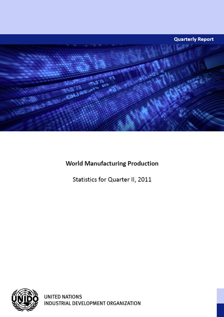quarterly report on manufacturing unido