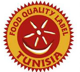 The food quality label.