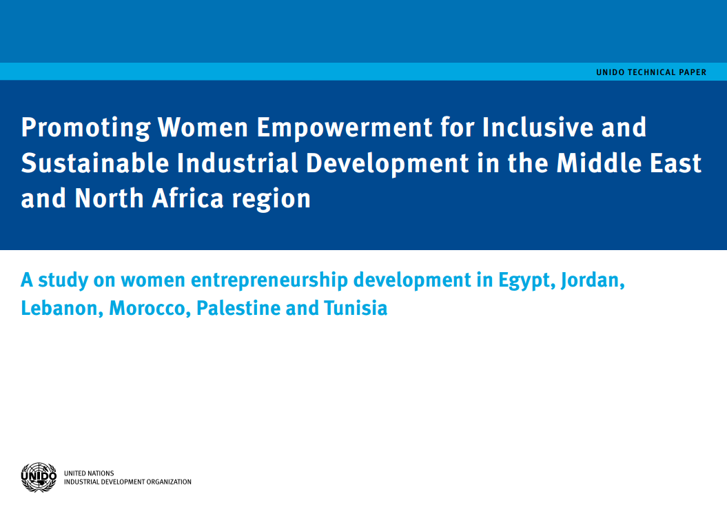Publications on women and youth in productive activities unido promoting women empowerment for inclusive and sustainable industrial development in the middle east and north africa region sciox Image collections