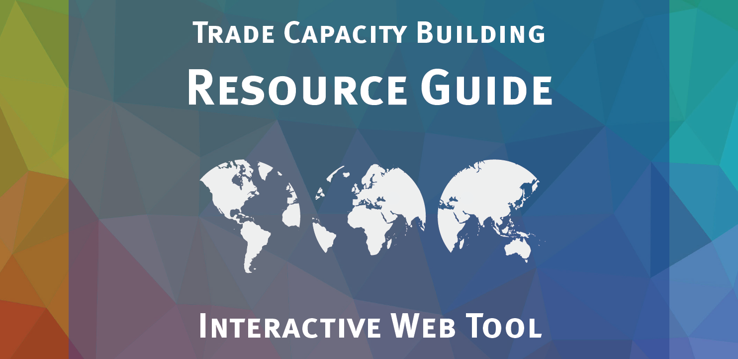 Trade Capacity Building Web Tool