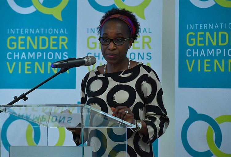 UNIDO Director General becomes an International Gender Champion/gallery