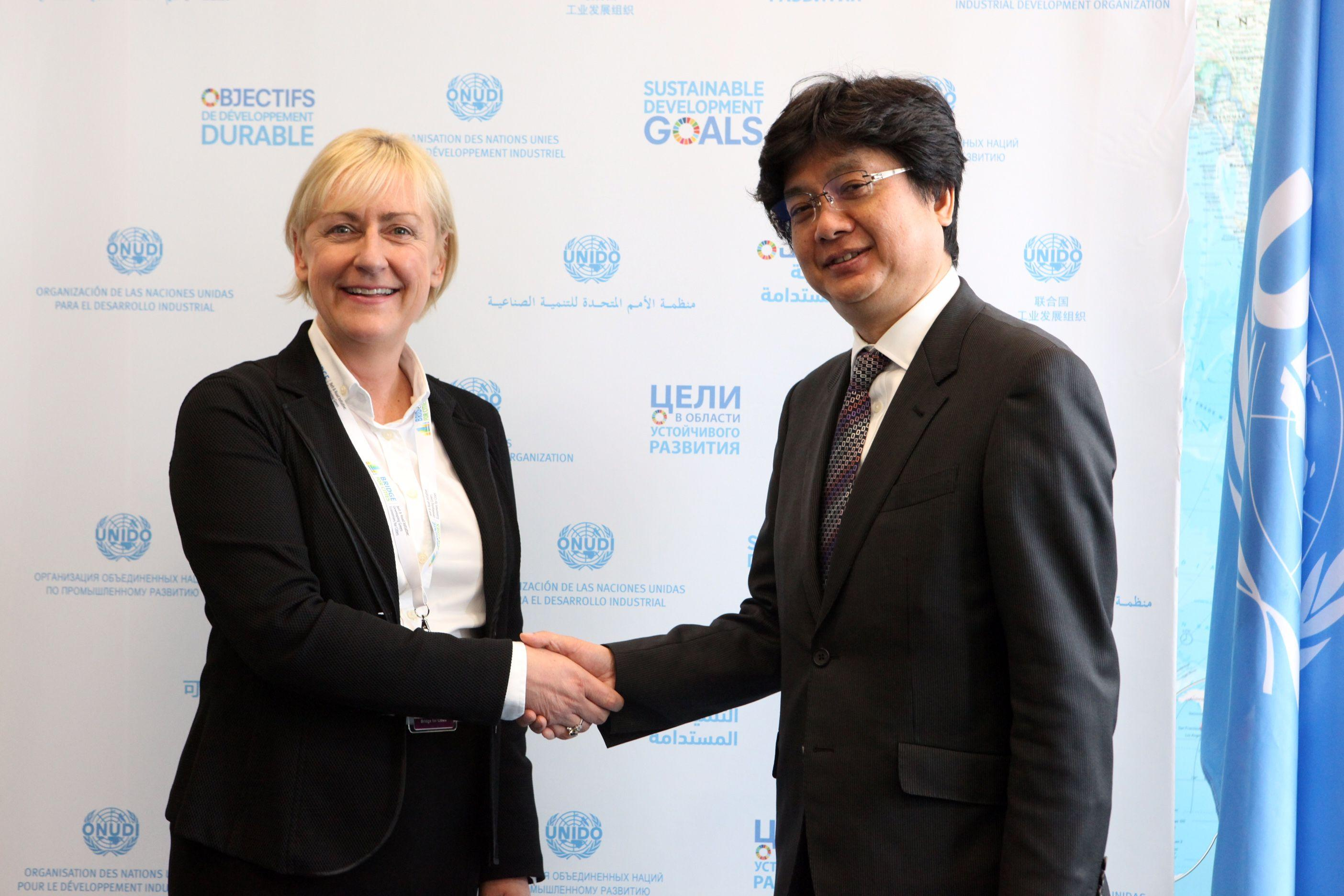 SAP and UNIDO join forces to enable UN Sustainable Development Goals with innovative technologies/gallery