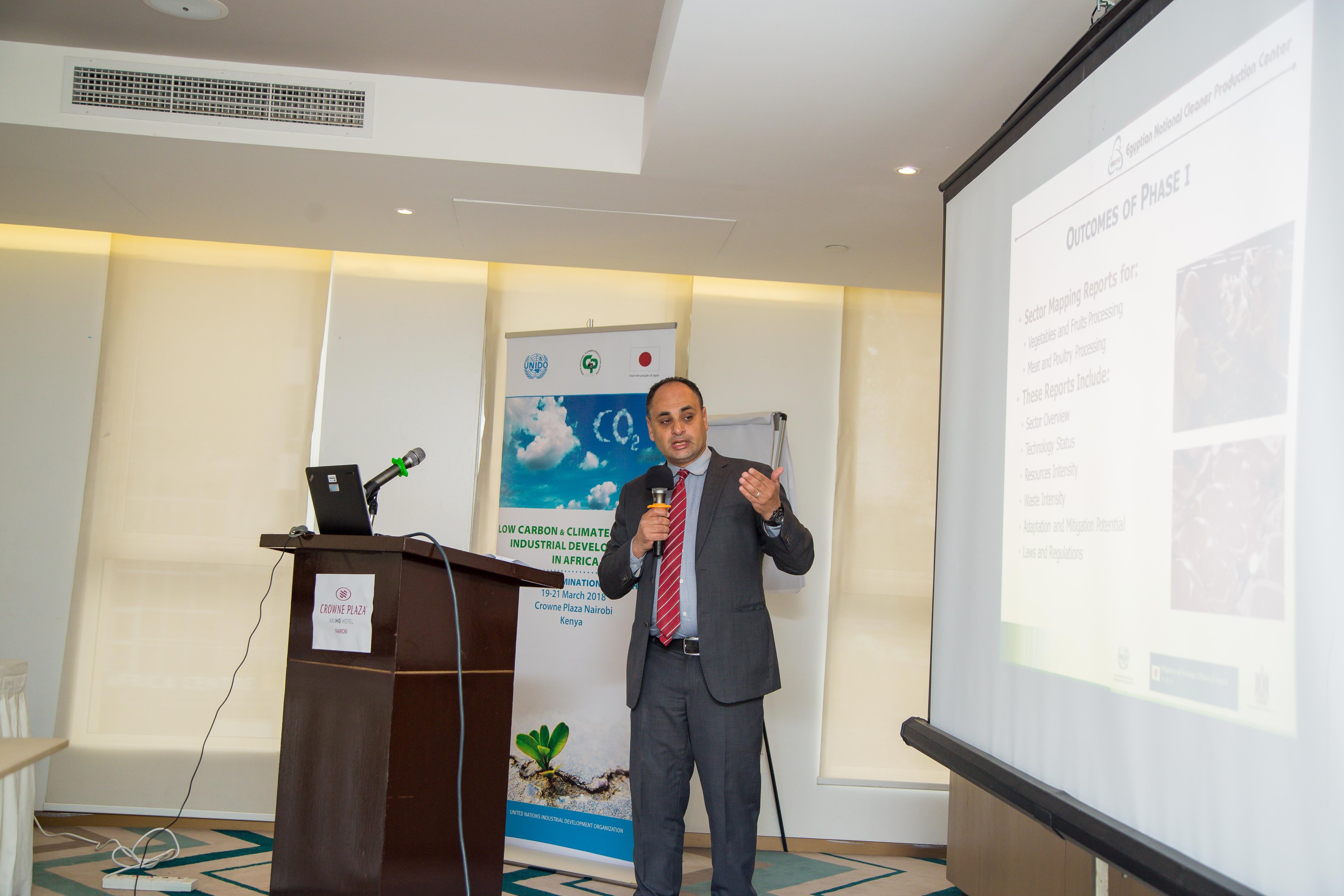 Low carbon and Climate Resilient Industrial Development in Africa