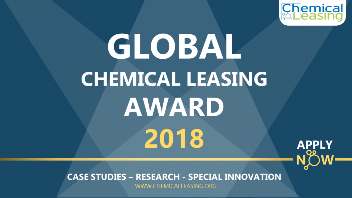 Fourth Global Chemical Leasing award - call for entries