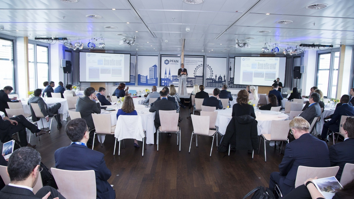Entrepreneurs pitch their projects at the PFAN Climate and Clean Energy Investment Forum