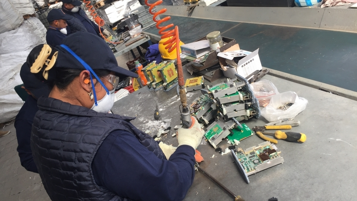 Tackling e-waste challenges in Latin America