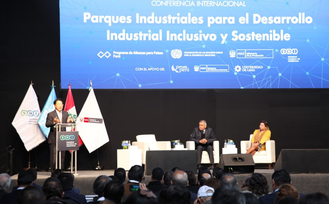 International conference on industrial parks in Peru