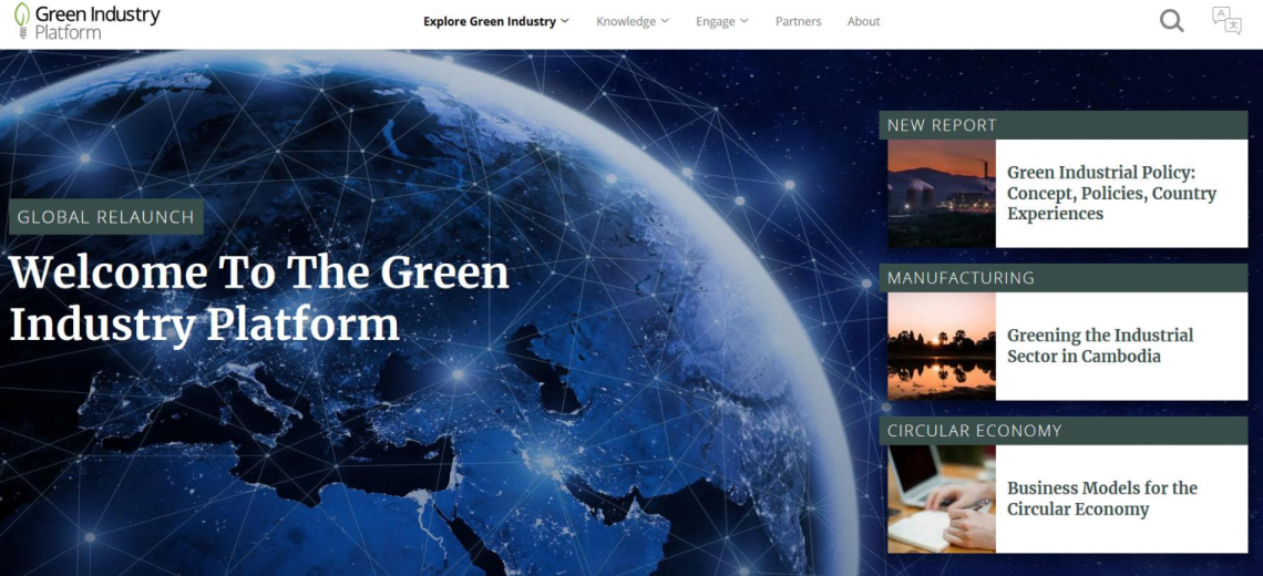 Green Industry Platform relaunched