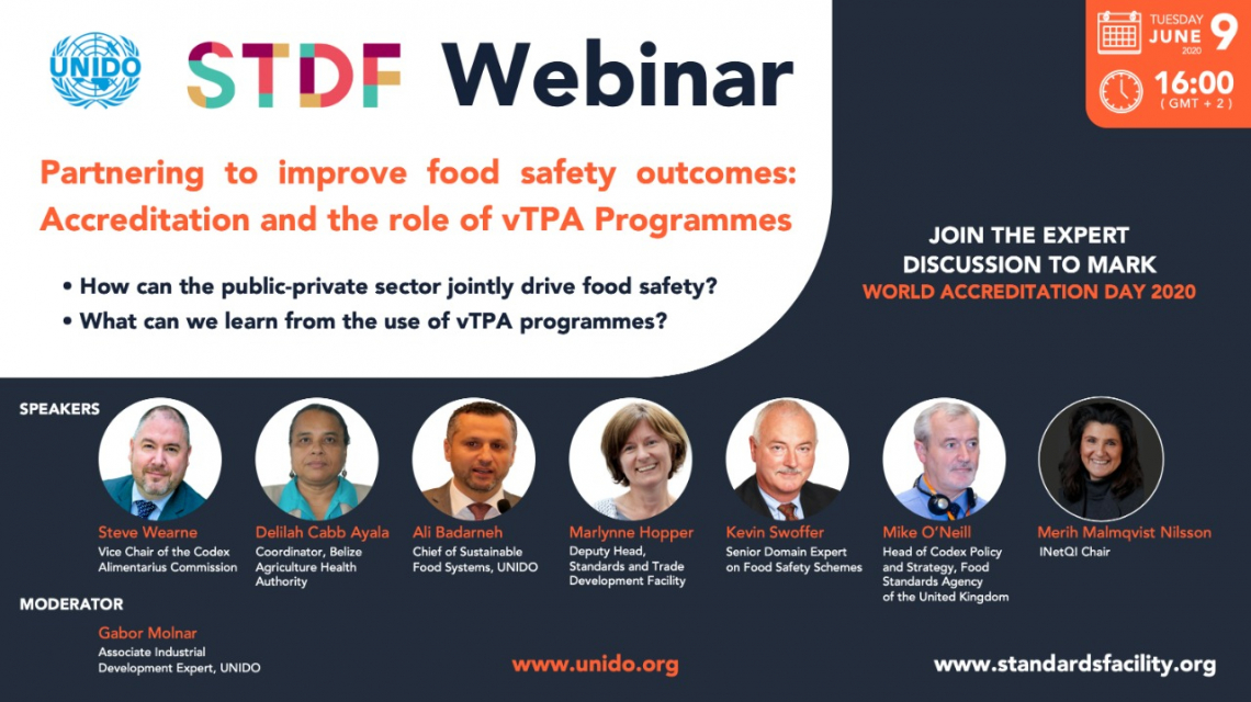 Partnering to improve food safety outcomes:  accreditation and the role of vTPA programmes