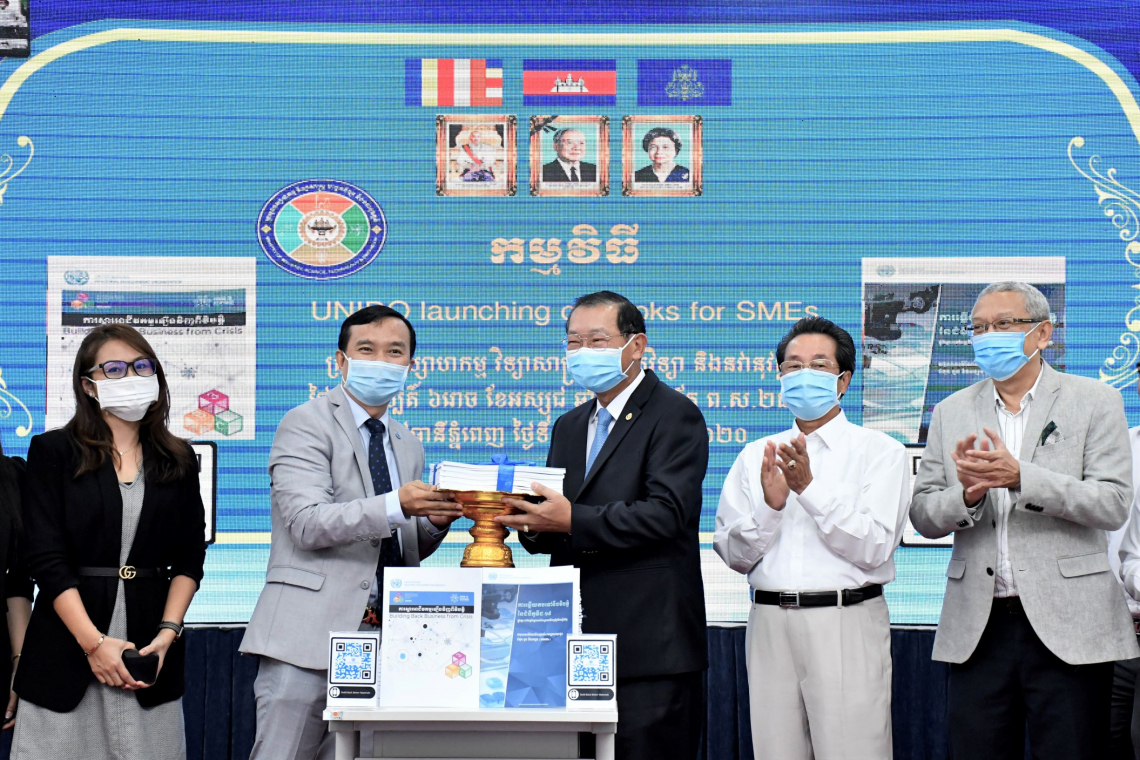Cambodia: practical ideas for MSMEs on how to recover from the COVID-19 pandemic