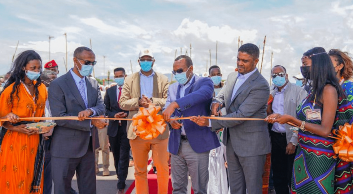 Ethiopia's Prime Minister Abiy Ahmed inaugurates third Integrated Agro-Industrial Park