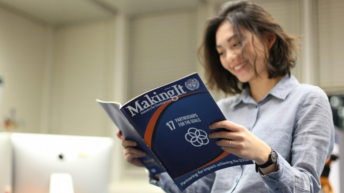 New issue of UNIDO's Making It magazine focuses on partnerships for impact
