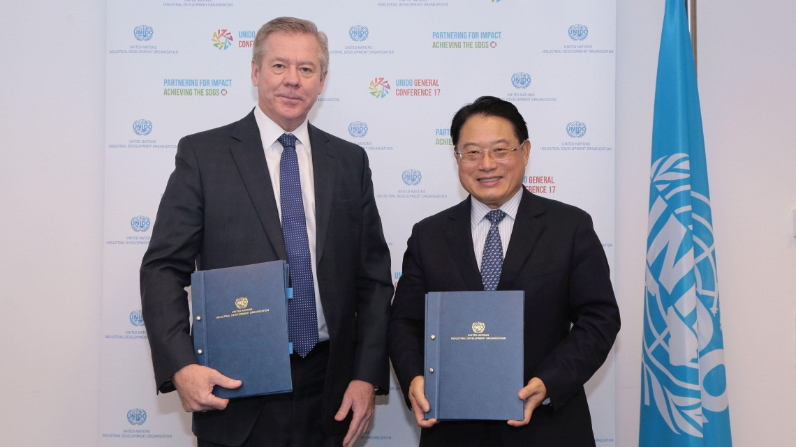 UNIDO and the Russian Federation to strengthen cooperation