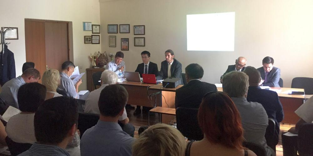 Laying the foundations of a new industrial development programme for Kyrgyzstan