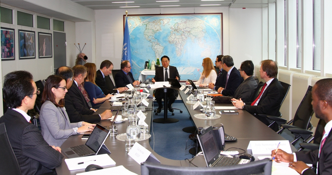Meeting of the Private Financing Advisory Network (PFAN)