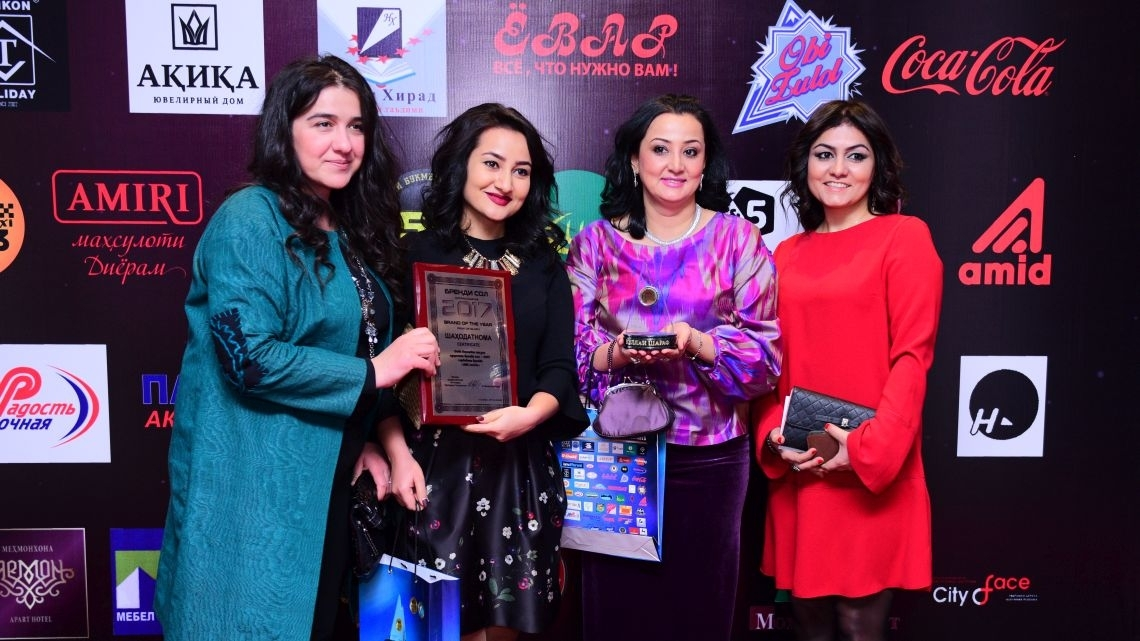 """LA'AL Textiles"" named Tajik Brand of the Year 2017"