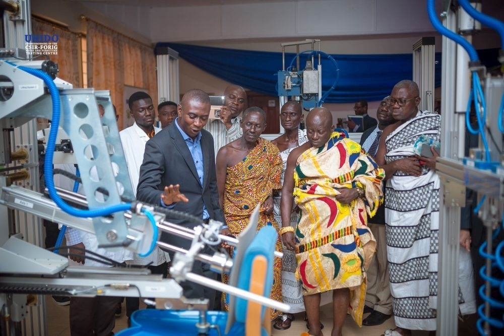 Innovative wood and furniture testing centre opens in Ghana