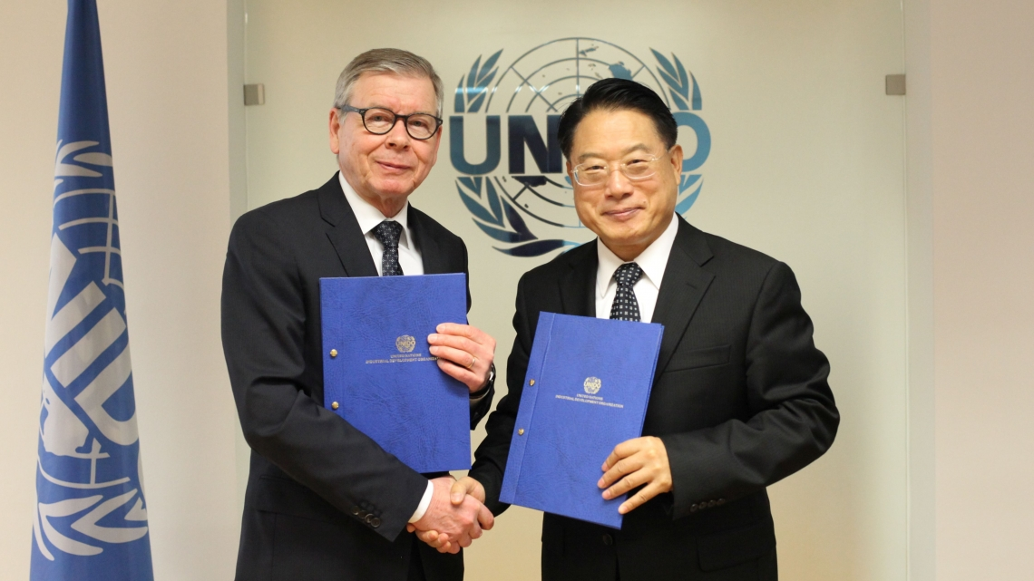 Finland and UNIDO sign agreement to further strengthen cooperation in the field of economic development and trade capacity-building in Least Developed Countries