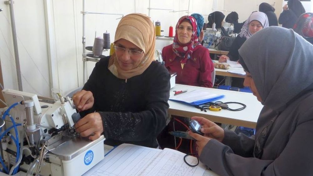 Syrian women train in textiles to sew a better future in Turkey
