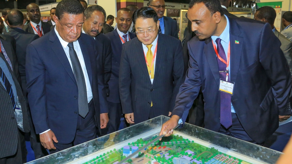 Building for the future: Director General LI travels to Ethiopia