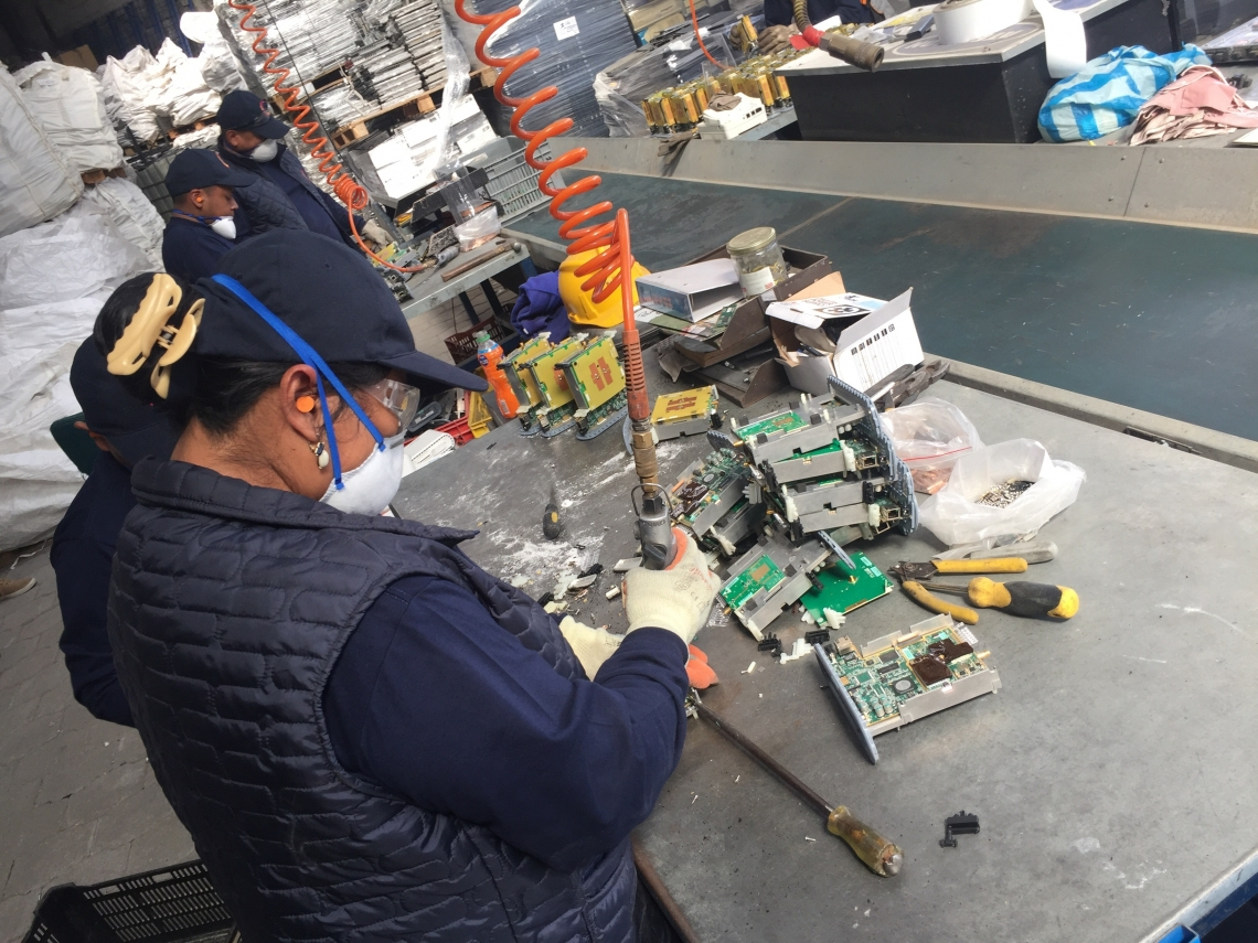 Solving the e-waste problem in Latin America