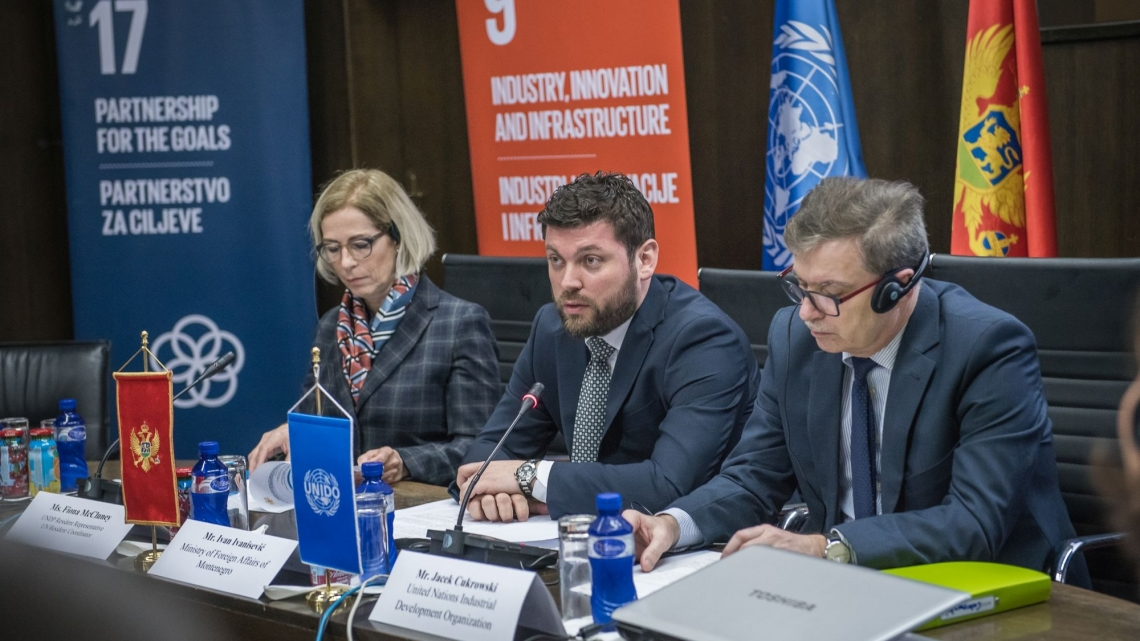 Montenegro and UNIDO launch Country Programming Framework