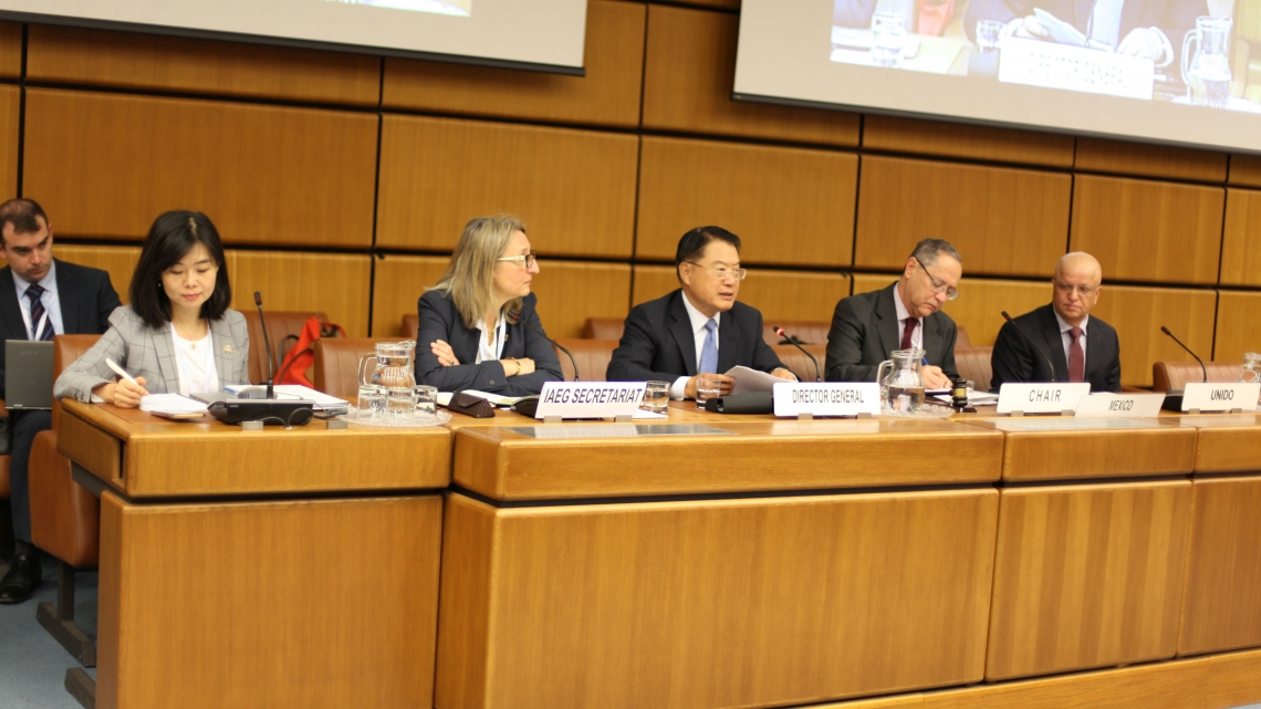 Director General LI's Statement at the Seventh meeting of Inter-Agency and Expert Group on SDGs