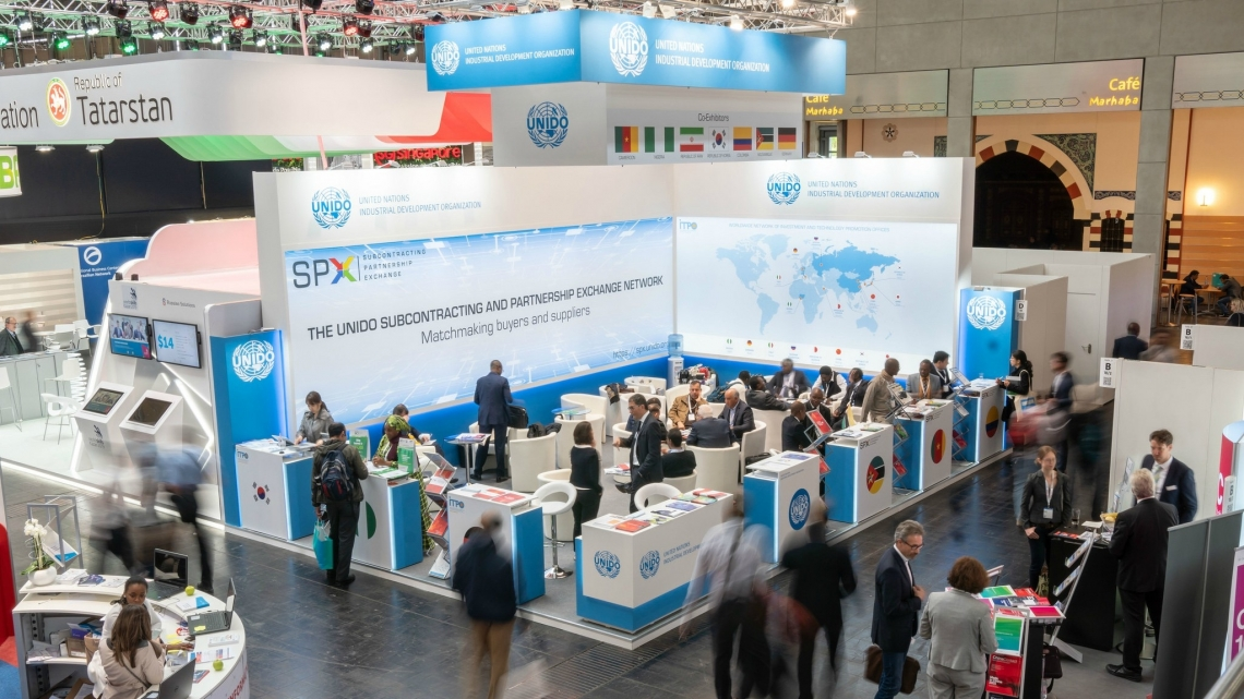 UNIDO at Hannover Messe 2018