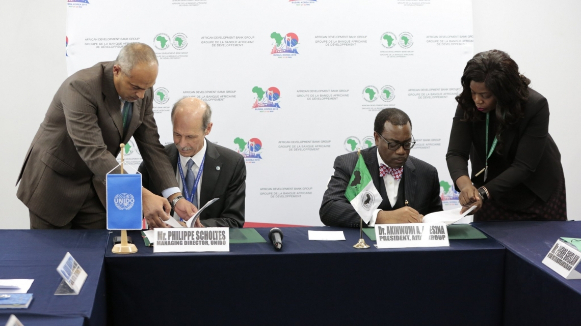 African Development Bank and UNIDO join forces to accelerate Africa's industrialization