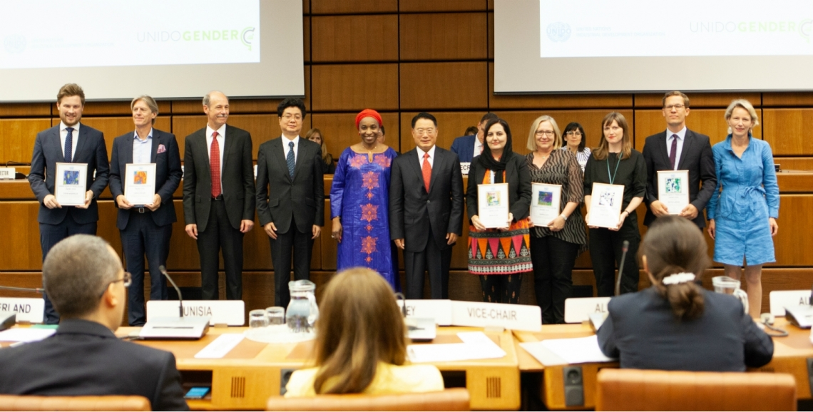 Awards for UNIDO staff taking the extra step to prioritize gender equality and gender-responsive behaviour