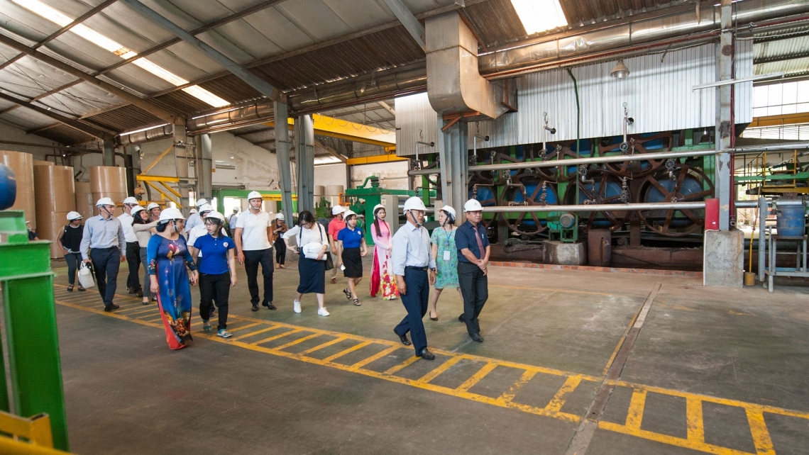 UNIDO Director General LI Yong and other high-level representatives visit Da Nang eco-industrial park