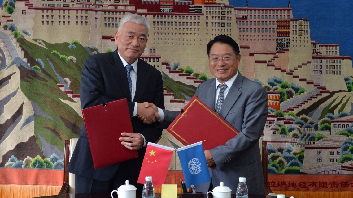 UNIDO Director General discusses cooperation with China during official visit to Beijing