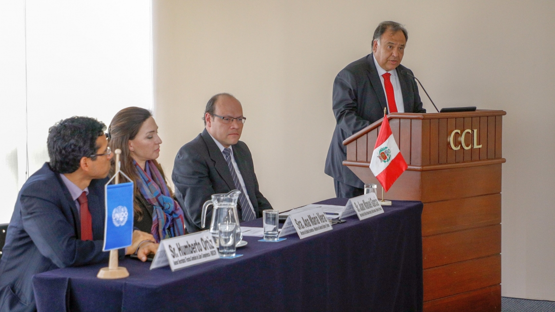 Industrial Development Report 2018 presented in Peru