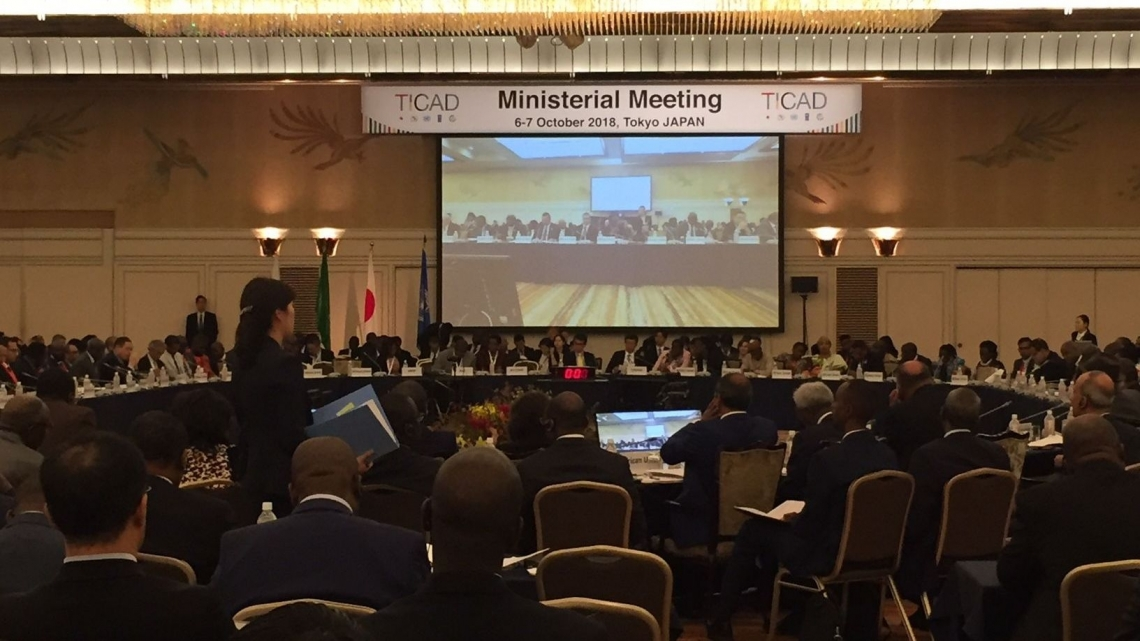 UNIDO Deputy to the Director General participates in the Ministerial Meeting of the Tokyo International Conference on African Development (TICAD)