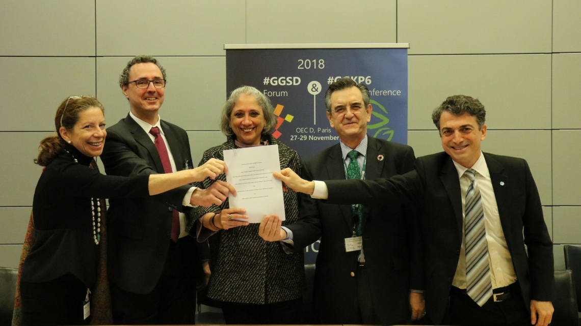 UNIDO joins leadership of the Green Growth Knowledge Platform