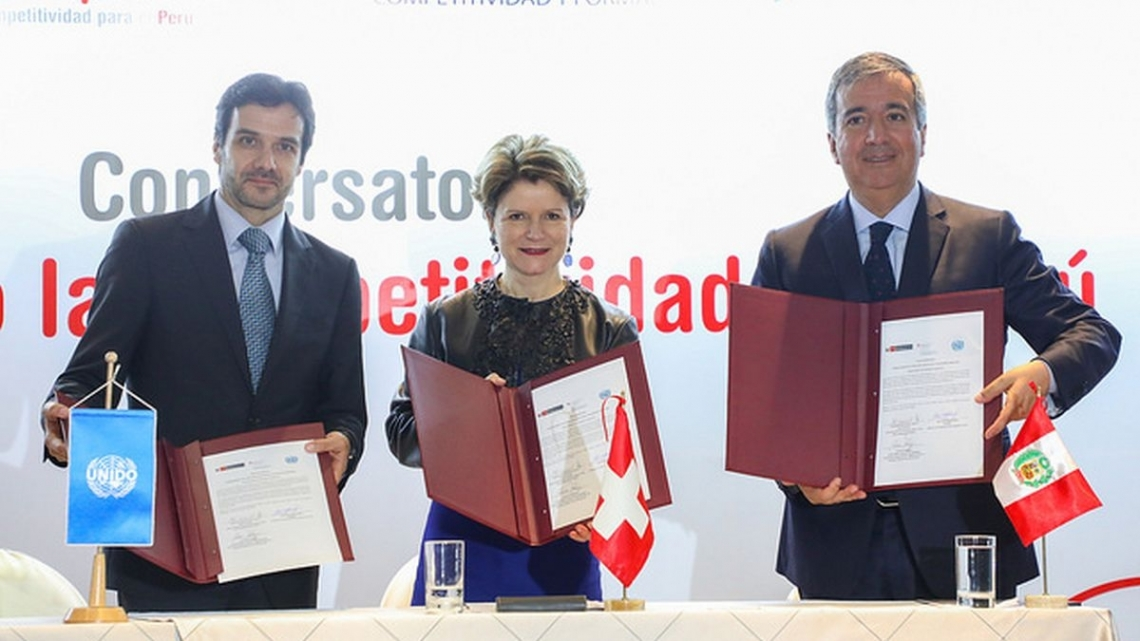 UNIDO and Switzerland launch Global Quality and Standards Programme project in Peru