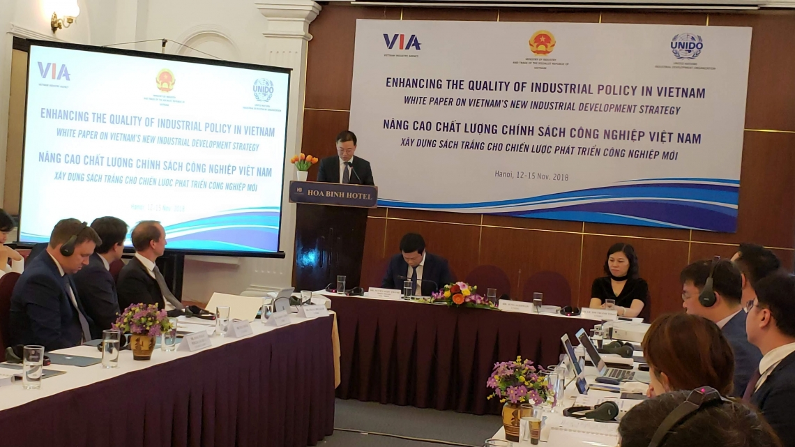 UNIDO helps enhance the quality of industrial policy in Viet Nam