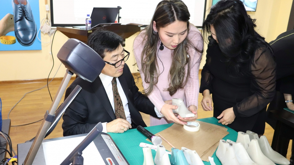 Footwear pattern engineering training launched in Mongolia