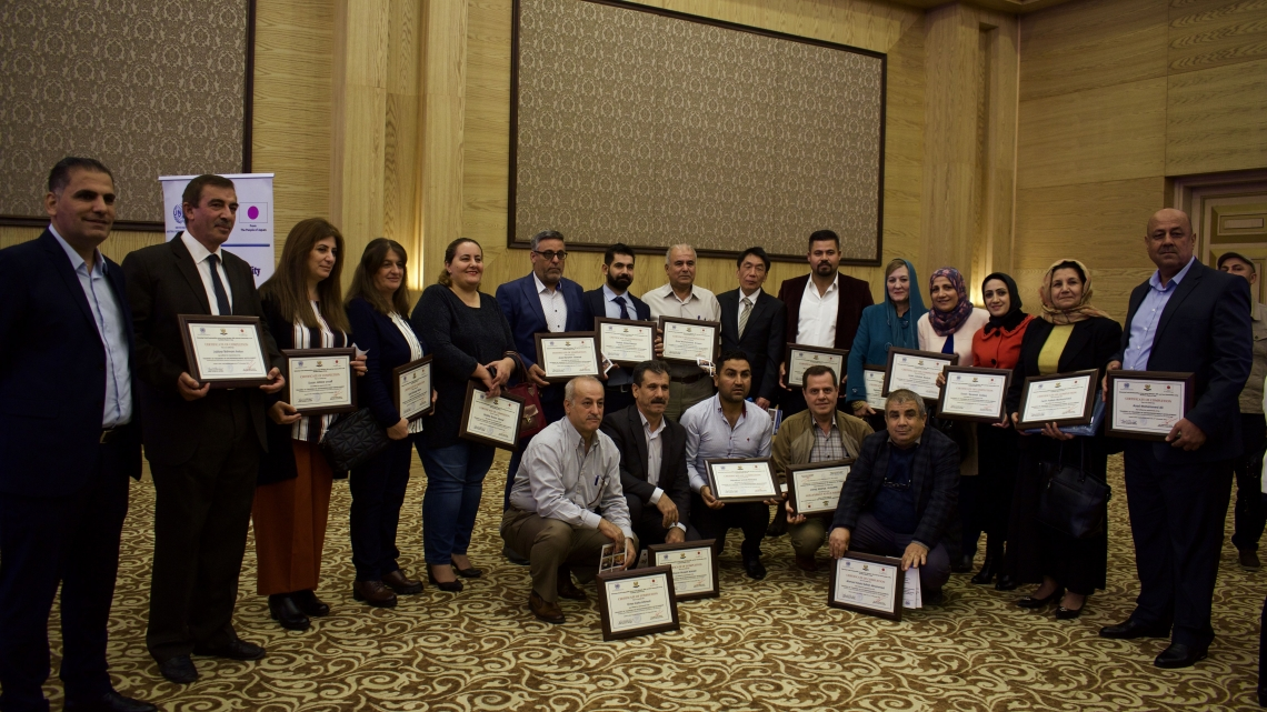 UNIDO graduates entrepreneurship trainers in Iraq