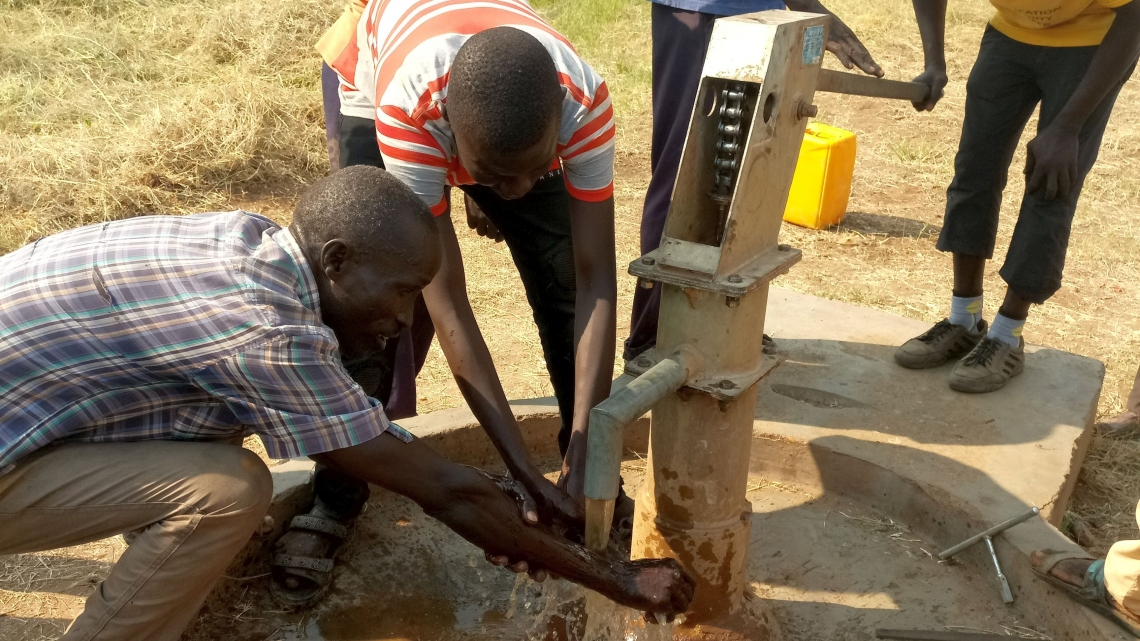 Training conducted in South Sudan to improve access to water