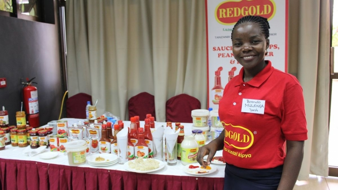 Tanzanian horticulture processors put their products to the test