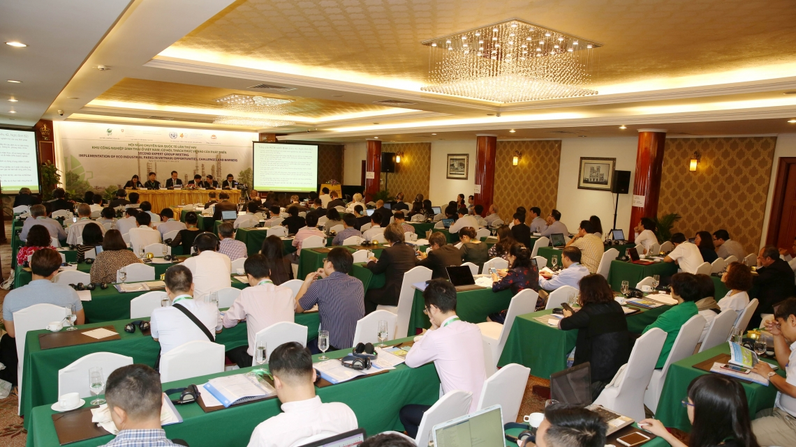 Experts meet to discuss progress in implementing eco-industrial parks in Viet Nam