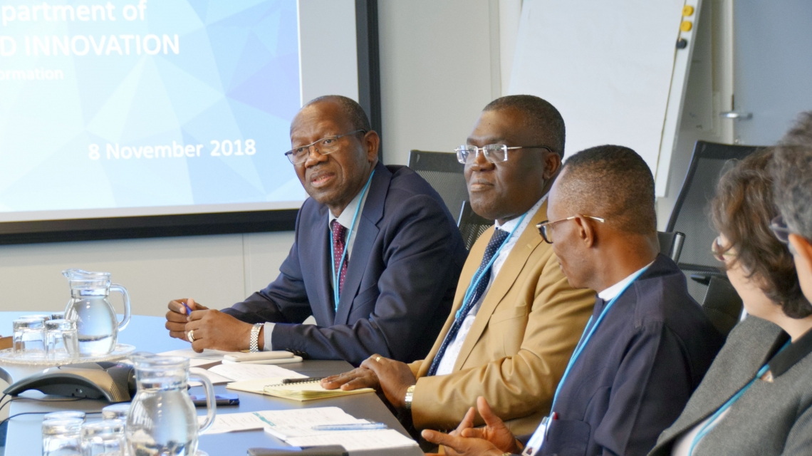 UNIDO, ECOWAS deepen cooperation during visits to Vienna and Brussels
