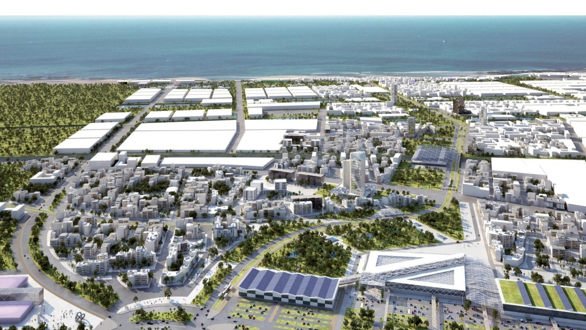 Promoting inclusive and sustainable industrial production at the Zenata Eco-City