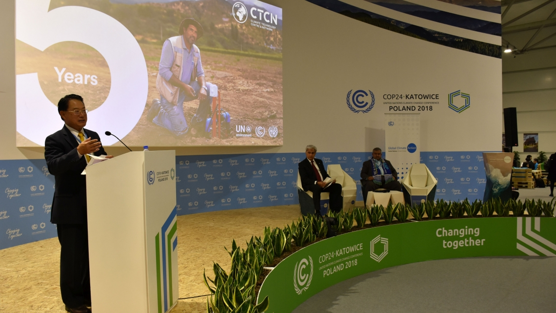 Innovation: key to solving climate change and promoting prosperity