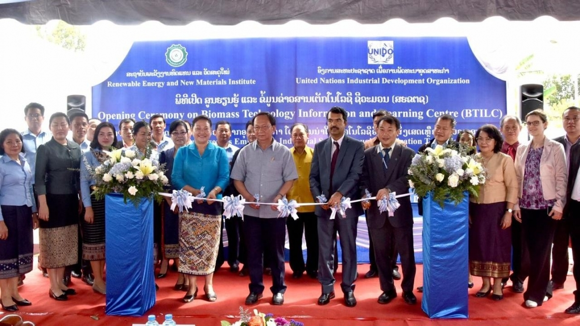 New UNIDO centre to promote biofuel production in Lao PDR
