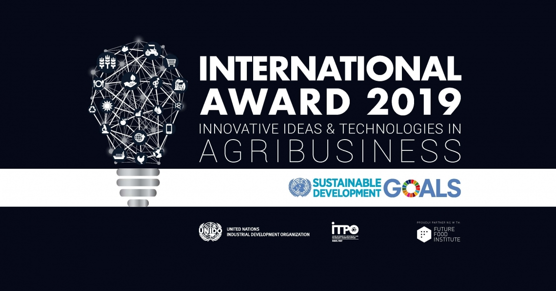 UNIDO ITPO Italy and the Future Food Institute launch third edition of international agribusiness award