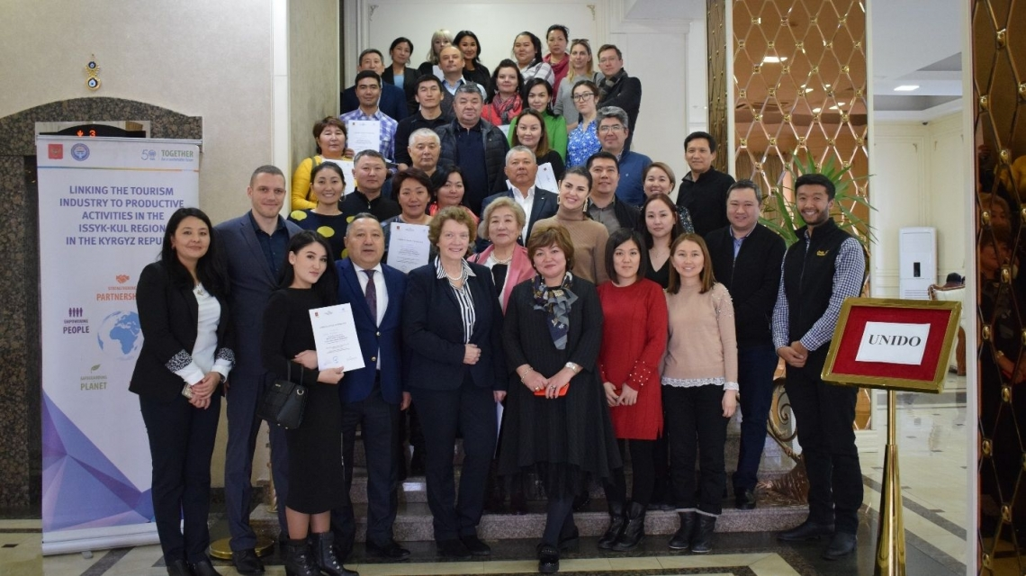 Workshops aim to boost the tourism industry in Kyrgyzstan