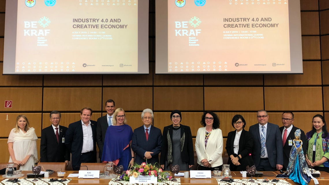 UNIDO and Indonesia promote Industry 4.0 and the creative economy