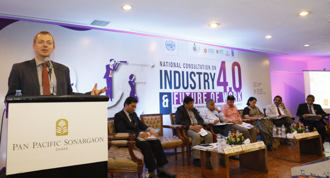 UNIDO-Bangladesh event promotes Industry 4.0 opportunities